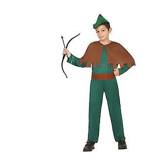 Infantiles disfraces traje de robin hood de los niños para niños