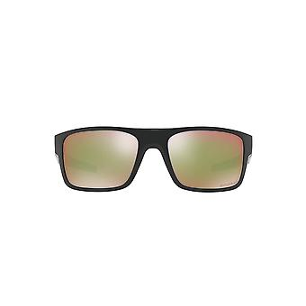 Oakley Drop Point Sunglasses In Polished Black Shallow Water Prizm Polarised