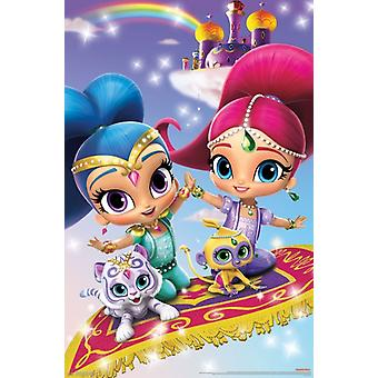 Shimmer and Shine - Key Art Poster Print