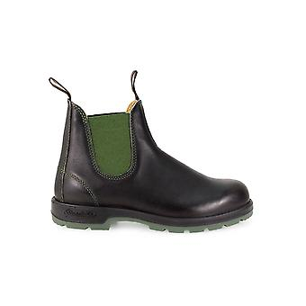 BLUNDSTONE BLACK GREEN BOOT