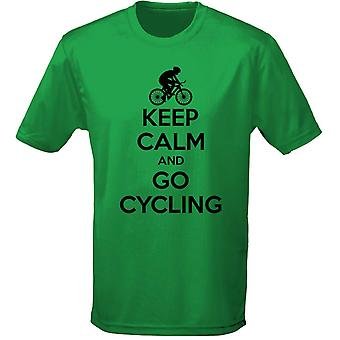 Keep Calm And Go Cycling Kids Unisex T-Shirt 8 Colours (XS-XL) by swagwear