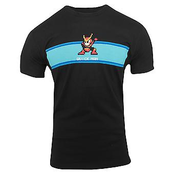 Capcom rask mand fase Start Premium udstyret T-Shirt-Black