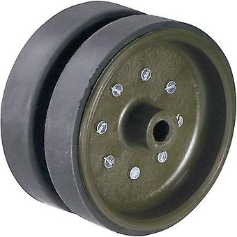 Plastic Pulley 2-part Modelcraft