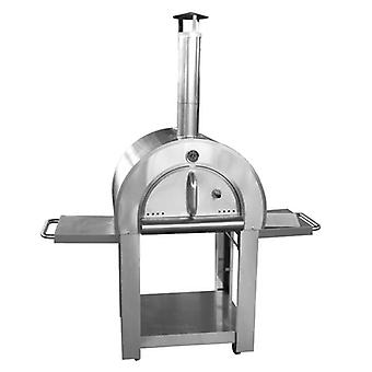 Wood Fired Outdoor Small Pizza Oven with Cover