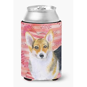 Carolines Treasures  BB9729CC Pembroke Corgi Love Can or Bottle Hugger