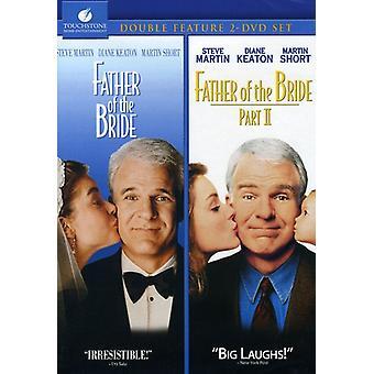 Far til bruden 1 & 2 [DVD] USA importerer