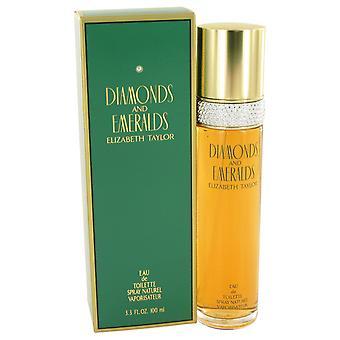 Elizabeth Taylor Diamonds & Emeralds Eau de Toilette 100ml EDT Spray