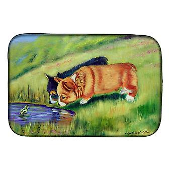 Carolines Treasures  7292DDM Corgi Dish Drying Mat