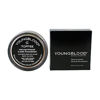 Youngblood natuurlijke losse minerale Foundation - Toffee 10g / 0.35 oz