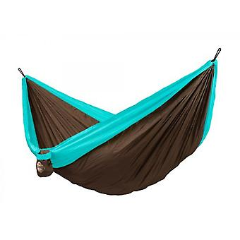 La Siesta Double Travel Hammock Colibri Turquoise CLH20-3 (Garden , Others)