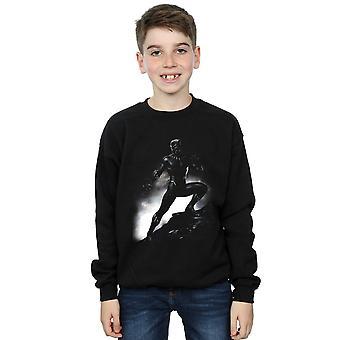 Marvel Boys Black Panther Standing Pose Sweatshirt