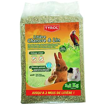 Tyrol Hemlp And Flax Litter (Small pets , Bedding)
