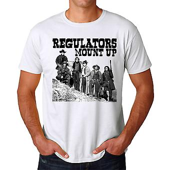 Young Guns Mount op mænds hvid T-shirt