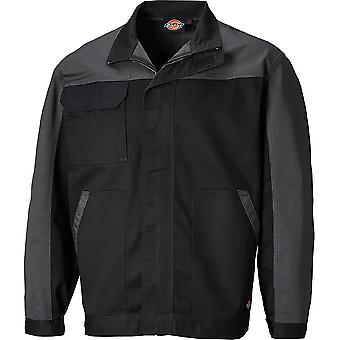Dickies Mens Everyday Polycotton Adjustable Two Tone Workwear Jacket
