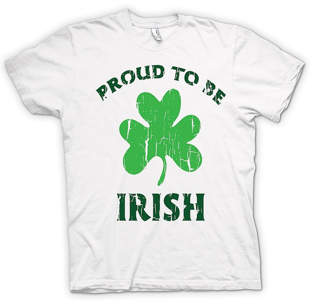 Mens T-shirt - St Patricks Day - Proud To Be Irish