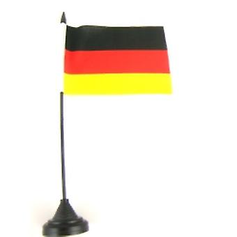 Germany Table Flag with Stick and Base