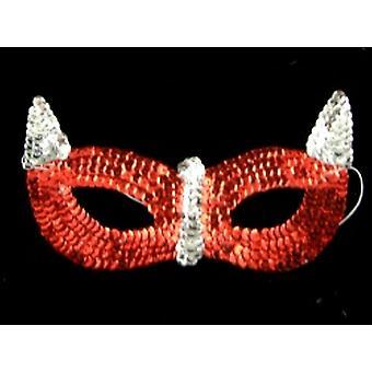 Sequin Bird Style Mask