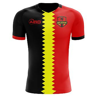 2018-2019 België vlag Concept voetbalshirt