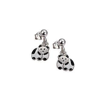 Scout children earrings silver Panda girls 262103100