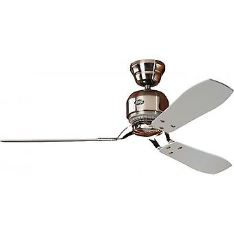 Plafond Fan Hunter INDUSTRIE II 132 cm/52 inch geborsteld chroom