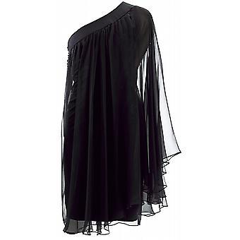 Christian Dior One-Shoulder Dress