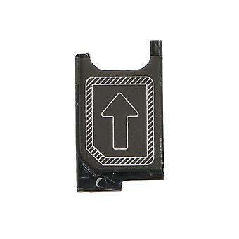 SIM-kortholderen indehaveren for Sony Xperia Z3 D6603 SIM skuffen sort erstatningstilbehør
