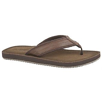 Mens Lightweight Slip On Toe Post Flip Flop Mule Sandals Shoes