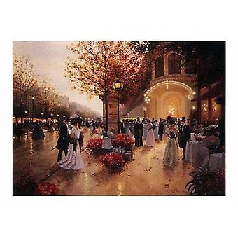 Вечерние удовольствия плакат печати Christa Киффер (36 x 24)