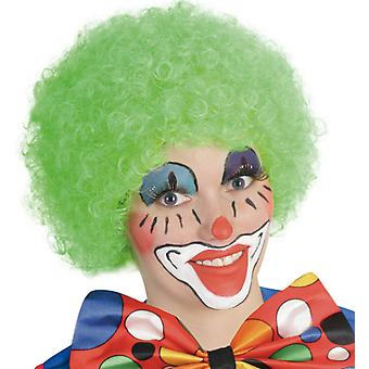 Perücke Hair grün Afro Lockenkopf