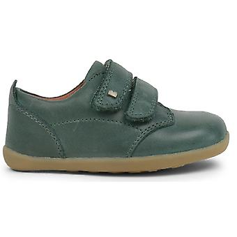 Bobux Step Up Boys Port Shoes Forest Green