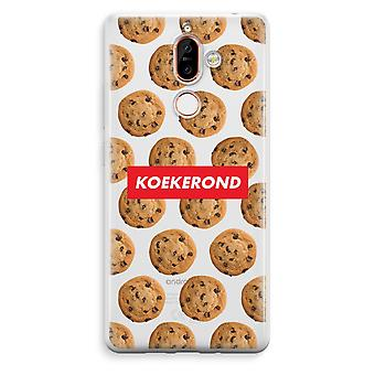 Nokia 7 Plus Transparent Case - Koekerond