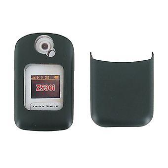 Sony Ericsson Z530i mobiltelefon Cover/frontplaten & batteridekslet - svart