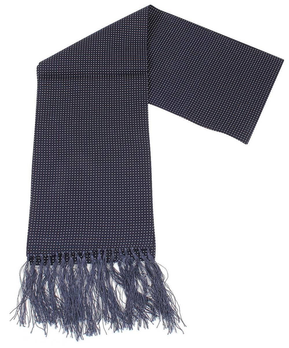 Knightsbridge cravates Pin Dot Robe Svoituref - Navy