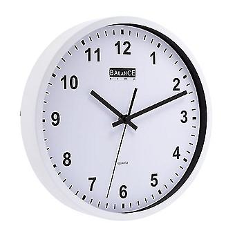 Balance metal quartz wall clock 30 cm