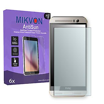 HTC One M9 Plus Screen Protector - Mikvon AntiSun (Retail Package with accessories)