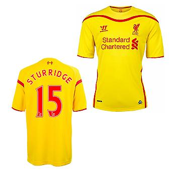 2014-15 Liverpool Away Shirt (Sturridge 15) - Kids