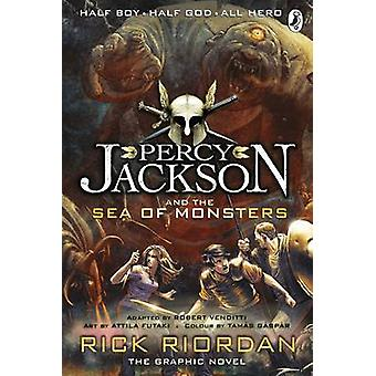 Percy Jackson and the Sea of Monsters - The Graphic Novel - Bk. 2 by Ri