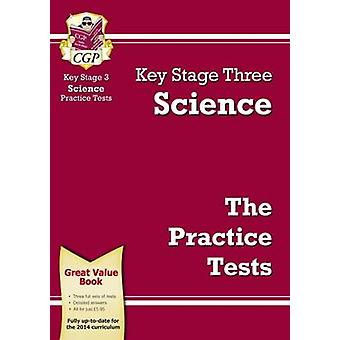 KS3 Science Practice Tests (Revised edition) by CGP Books - CGP Books