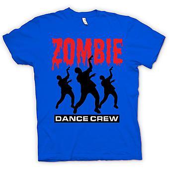 Heren T-shirt - Zombie Dance Crew - grappige Horror
