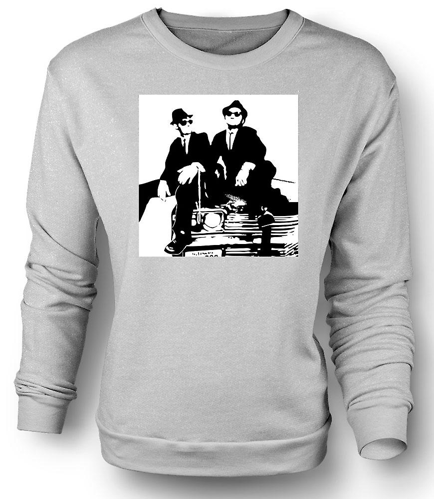 Mens Sweatshirt Blues Brothers - Pop Art