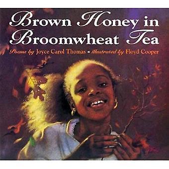 Braune Honig im Tee Broomwheat