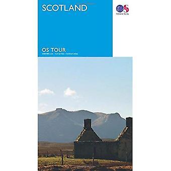 Tour Schotland (OS Tour kaart)