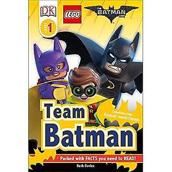 DK Readers L1: The Lego(r) Batman Movie Team Batman (DK Readers: Level 1)