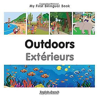 Min första tvåspråkiga bok - utomhus - franska-engelska