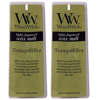 Woodwick Scented Wax Melts - Twin Pack (2 x 4 pack) -TranquiliTea