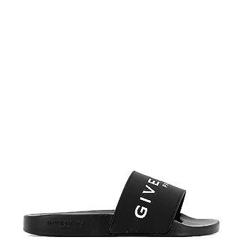 Givenchy Folie Kautschuk schwarz Sandalen