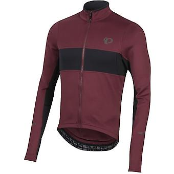 Pearl Izumi Port-Black Elite Escape Thermal Long Sleeved Cycling Jersey