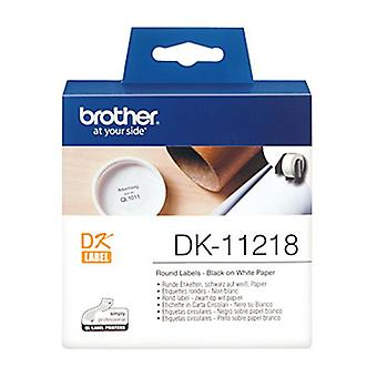 DK11218 Brother White Label 1000 per rol