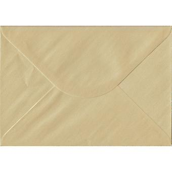 Champagne Peel/Seal C5/A5 Coloured Cream Envelopes. 100gsm FSC Sustainable Paper. 162mm x 229mm. Wallet Style Envelope.