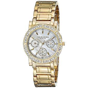Akribos XXIV AK530YG-wrist watch for women